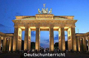 Foto vom Brandenburgertor in the evening
