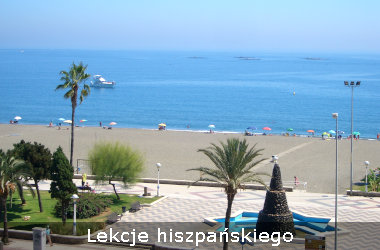 Photo of the beach at Torre del Mar on the Costa del Sol